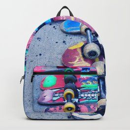 """SKATEBOARD THRIFT"" BY ROBERT DALLAS Backpack"