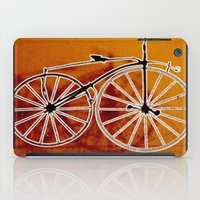 bike iPad Cases featuring Bike by CrismanArt