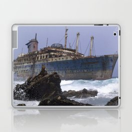 Blue boat colors fashion Jacob's Paris Laptop & iPad Skin