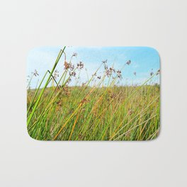 flowers in daylight Bath Mat