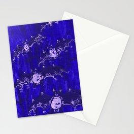 Blue Bats Stationery Cards