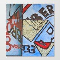 bauhaus Canvas Prints featuring Bauhaus.  by Ryan Williams Photography and Art. http: