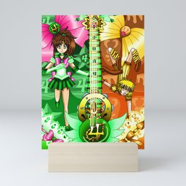 Sailor Mew Guitar #39 - Sailor Jupiter & Mew Pudding Mini Art Print