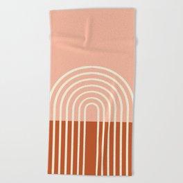 Terracota Pastel Beach Towel