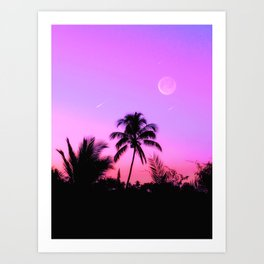 Late in the Afternoon Art Print