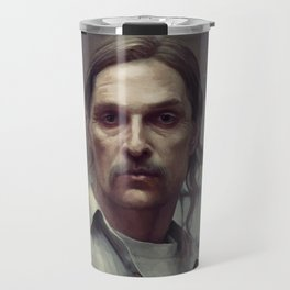 rust cohle Travel Mug