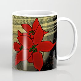 Bubble Euphorbia Pulcherrima Coffee Mug