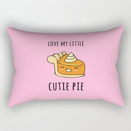 Cutie Pie Rectangular Pillow