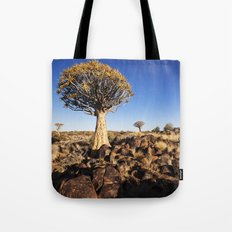 Quiver Trees in Namibia Tote Bag