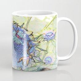 Expressionism Sunflower Coffee Mug