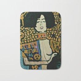 Judith - Ode to Klimt Bath Mat
