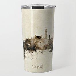 Sevilla Spain Skyline Travel Mug