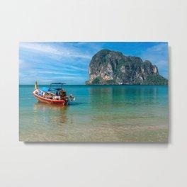 Pak Meng Boat Thailand Metal Print