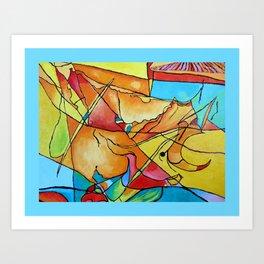 Abstract Micro Art Art Print