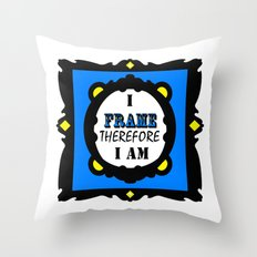 I Frame.... Throw Pillow