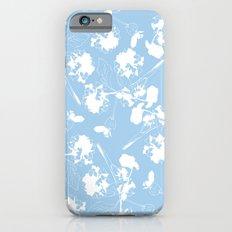 Hydranga pattern  - blue and white Slim Case iPhone 6s