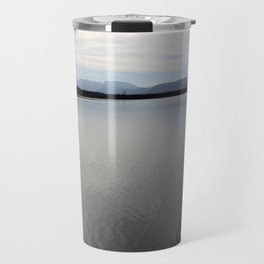 The Sea overview with Mountains Travel Mug