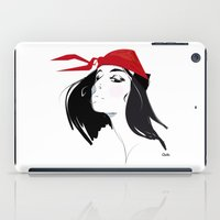 quibe iPad Cases featuring Elektra after Gruau by quibe