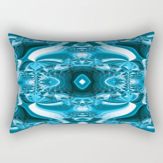 Ruffled in the depths... Rectangular Pillow