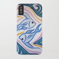 Pisces iPhone X Slim Case