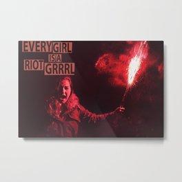 Riot grrrl Metal Print
