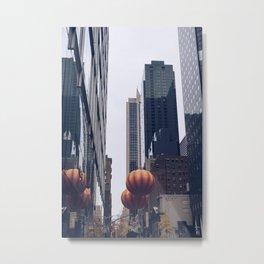 Thanksgiving Day Parade-Pumpkin Metal Print