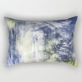 ABSTRACT ART Dream of Paint No. 008 Rectangular Pillow