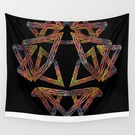 Pick-up Sticks Wall Tapestry