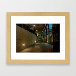 Walking Alone Framed Art Print