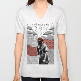 Blurryface design Unisex V-Neck