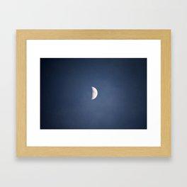 ONLY MOON - ORIGINAL Framed Art Print