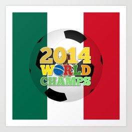 2014 World Champs Ball - Mexico Art Print
