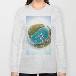 Tiny Planet Turks and Caicos Long Sleeve T-shirt