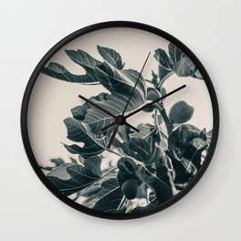 Fig Leaf Tree #society6 #decor #buyart #kirovair Wall Clock