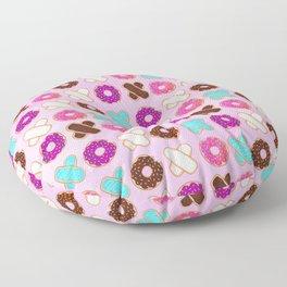 XOXO Donuts Floor Pillow