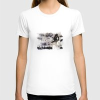 les miserables T-shirts featuring Miseria de los miserables (color version) by Niko Bleach