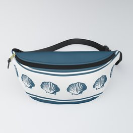 Seashells and stripes Fanny Pack