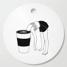 Coffee, First Cutting Board