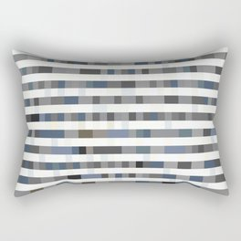 Bach Invention (Shades of Grey) Rectangular Pillow