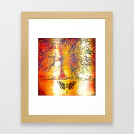 The mystic tree Framed Art Print