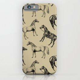 DUSTY HORSES iPhone Case