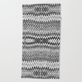 Missoni Style Mono Beach Towel