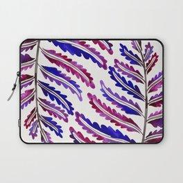 Fern Leaf – Indigo Palette Laptop Sleeve