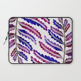 Fern Leaf – Indigo Palette Laptop Sleeve