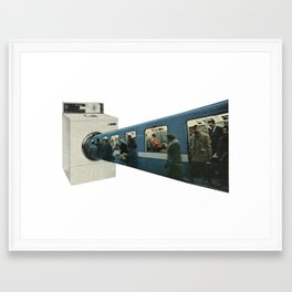 Public Transport Framed Art Print
