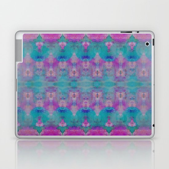 Watercolour Tribal Pink Laptop & iPad Skin