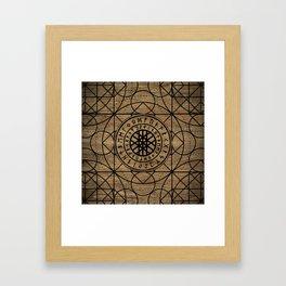 Web of Wyrd  -The Matrix of Fate Framed Art Print
