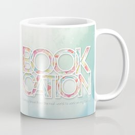 Bookcation Coffee Mug