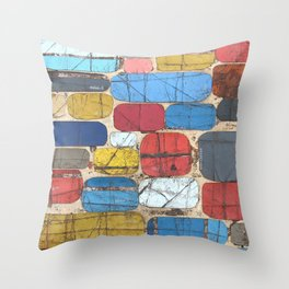 Charmed As Usual Throw Pillow