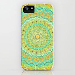 Citrus Burst - Mandala Art iPhone Case